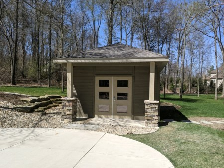 Pool house construction in jackson